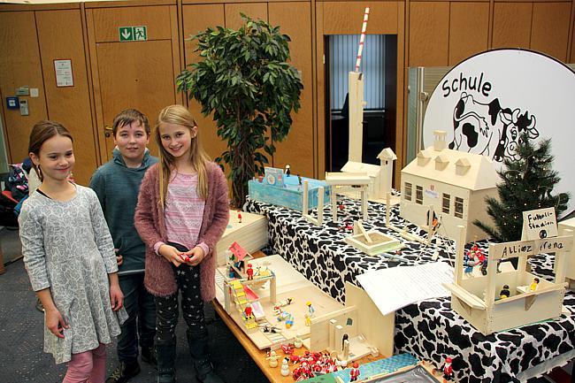 Ausstellung in der Sparkasse Langenberg