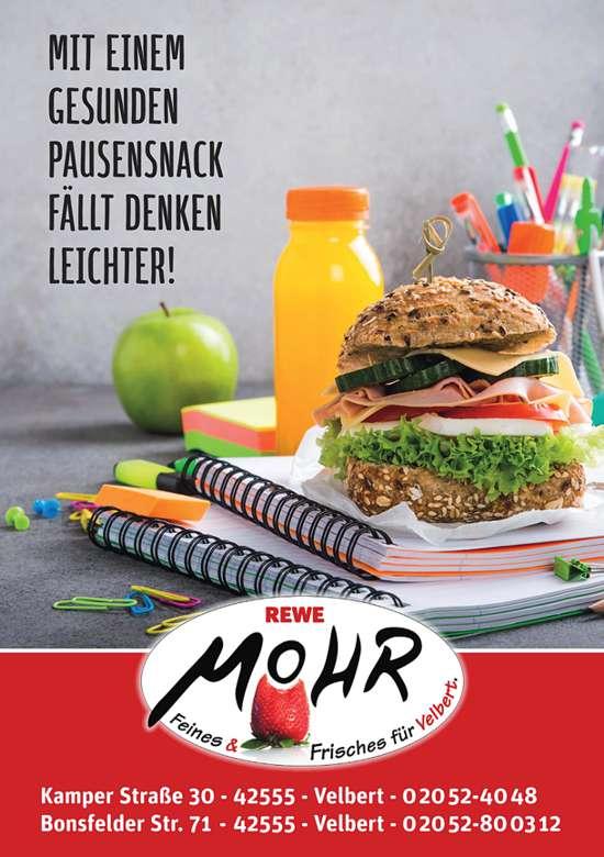 Unterstützung durch Rewe Mohr