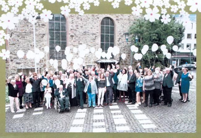Silberhochzeitspaar Eheleute Radtke