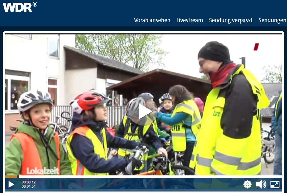 WDR: Bergische Reportage: Grundschüler erkunden ihre Region mit dem Rad
